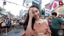 同床异梦大火后秋瓷炫现身韩国,看到中国女孩甚是亲切
