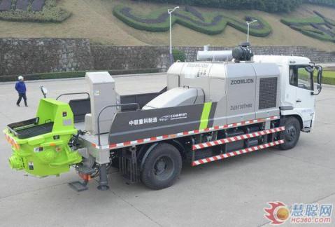 图集: 中联重科zlj5130thbe车载泵 优质装备全新体验