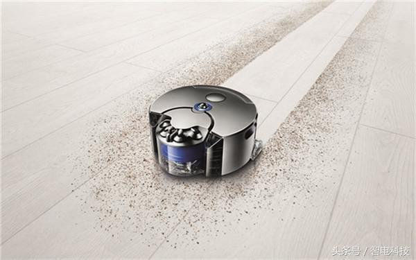 戴森发布智能吸尘机器人 戳中所有扫地机器人结构性死穴