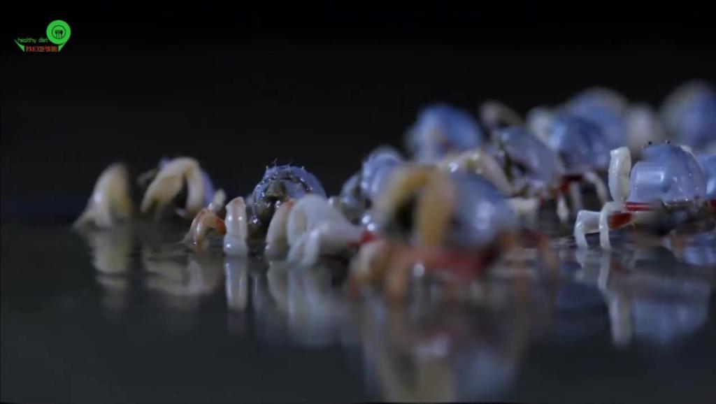 广西北海制作的沙蟹汁 原来是美味百搭酱汁 与很多美食均可搭配