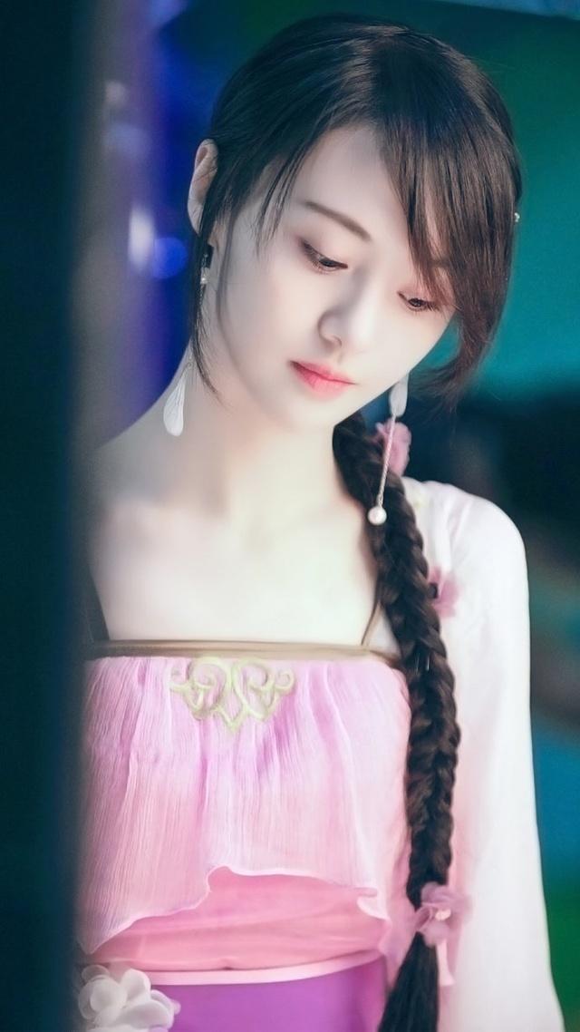 郑爽古装造型十足小仙女