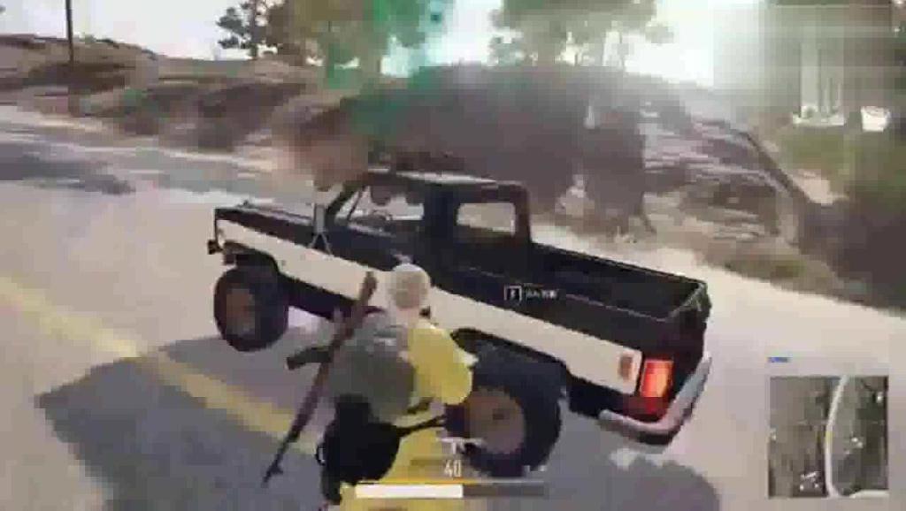 绝地求生: 天道轮回,不要手贱去打车轮胎!