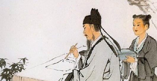 古代诗人还是兼职画家和音乐家: 读王维诗《鸟鸣涧》