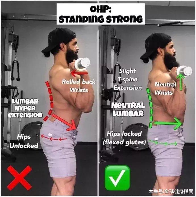 肩上王牌动作――肩上推举(图35)