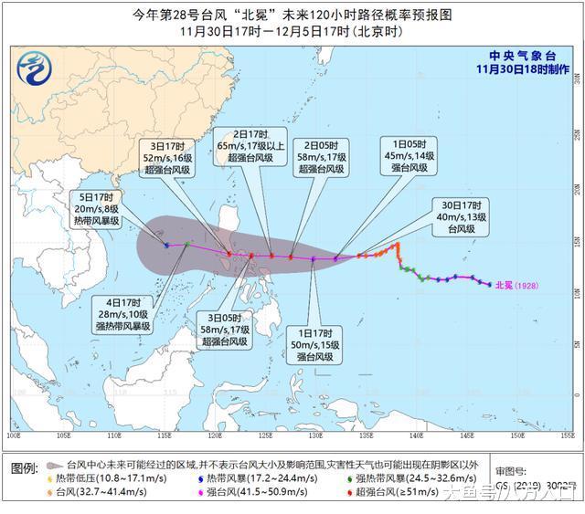 """广东确认了! 气温跳水日! 超强台风""""北冕""""有了新的预测"""