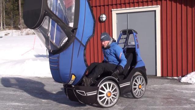 牛人造最豪华自行车,变速器空气悬挂一应俱全,堪比汽车
