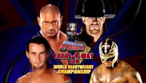 WWE混乱双打赛: 送葬者被攻击 巴蒂斯塔和雷尔内乱