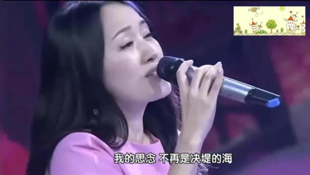杨钰莹再次唱响这首《心雨》!歌还是这首歌,而搭档却换成了他
