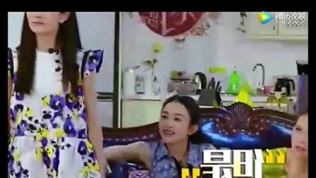 赵丽颖和谢娜被化妆师骂胸太小,结果谢娜一发飙,化妆师愣住了