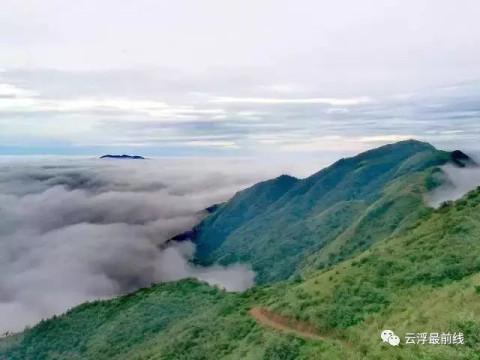微信旺财山水风景图片