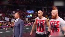 WWE捍卫者正式重组!正版三重炸弹摔赠米兹