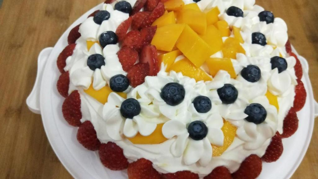 两分钟教会你做网红千层水果蛋糕!