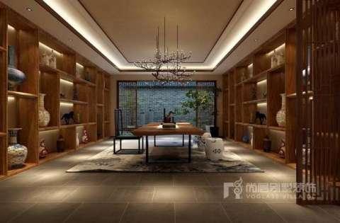 武汉别墅装修丨新中式与欧式的精彩碰撞