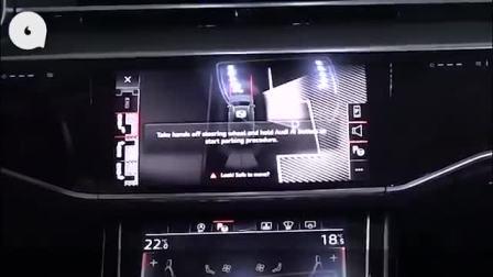 女司机福利?实测奥迪A8全自动泊车免踩刹车 [粤語中字]