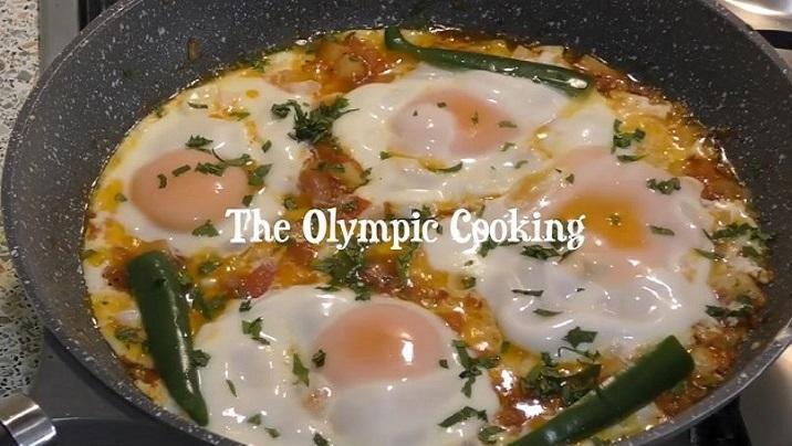 西红柿土豆鸡蛋能做成这样,厉害!阿富汗风格的美味早餐!
