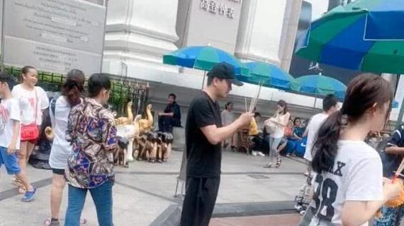 翟天临再次现身, 于泰国跪地上香祈福, 不料却引起网友巨大争议
