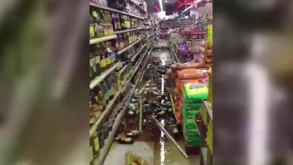 西双版纳景洪市发生地震视频资料!
