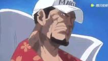 海贼王: 战国与卡普之间到底谁更强?让我们看看精彩剪辑片段!