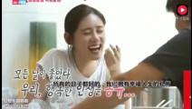 秋瓷炫韩国综艺做拉面吃,老公于晓光不好意思放屁,笑称没忍住