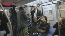 五对双胞胎地铁车厢恶搞乘客,旁观者找不到人生方向的表情笑死人