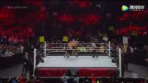 WWE莱斯纳力战两大头牌!一次背摔双人引爆全场!超爽比赛预警!