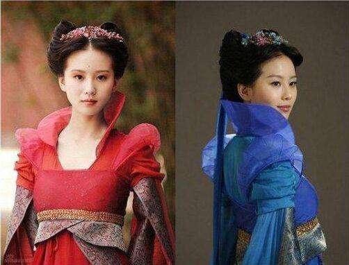 古装美女一人饰演两个角色, 杨幂刁蛮刘涛聪慧, 蒋勤勤死于非命?
