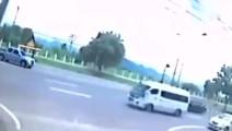男子车祸当场死亡后 监控拍下诡异一幕