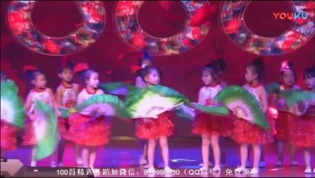 幼儿舞蹈视频2018最火幼儿园六一舞蹈(俺们爱跳花鼓灯