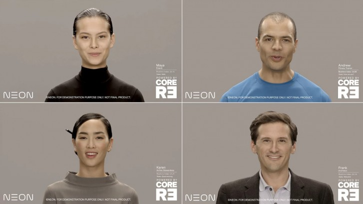 CES2020,Labs独立开发的人工智人Neon,全球媒体为之惊叹
