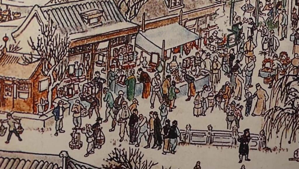 天坛周末10798 2018大年初一逛《天桥博物馆》