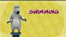 少儿动画片倒霉熊: 游泳