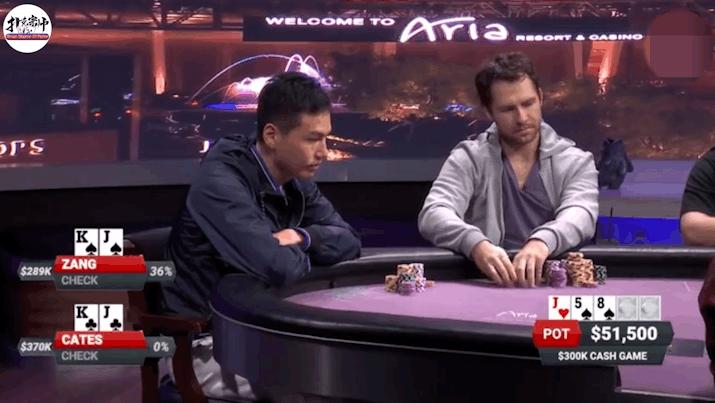 德州扑克: 牌桌惊现河牌神下注,让外国牌手大吃一惊!