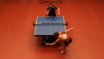 乒乓球史上前无古人后无来者的一个回合,裁判都看傻眼了!