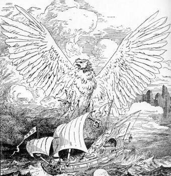 〔神兽〕中国古代神话神兽-4.鲲鹏