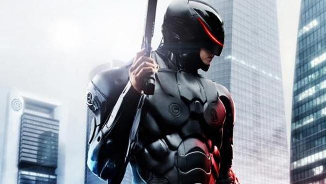 机器人科幻片,男子重伤反被改造成机械战警,战斗力爆表!