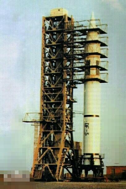绕地球只需90分钟: 中国最厉害的洲际导弹----东风-5A洲际导弹