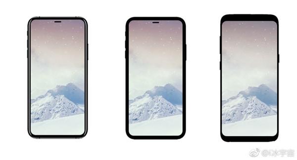 iphone 8实际屏占比并不见得比galaxy s8更大,只是把比边框比例更加平