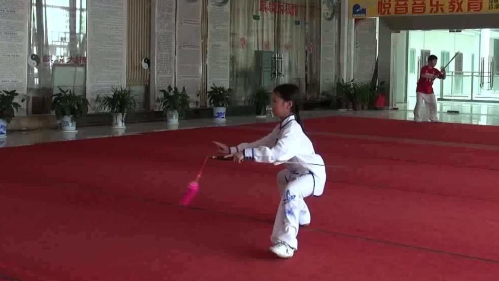 妍妍11岁.2017太极剑