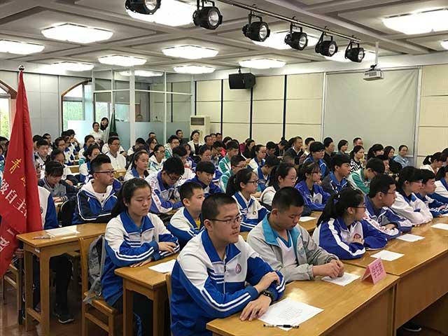 恰逢青年节, 青岛三中自主招生班正式开班!