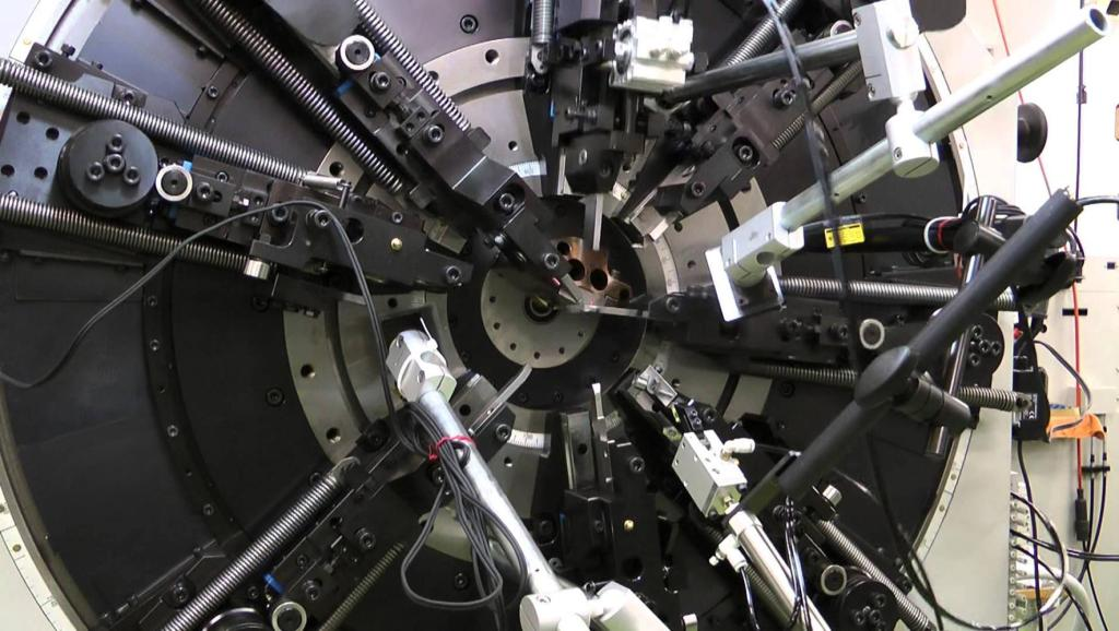 12轴同时开工这机器不得打起来?其实它很有规律简直强迫症福音!