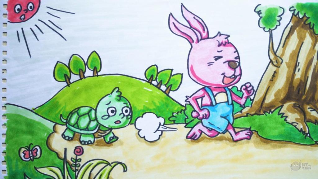 打开 神笔简笔画 童话 龟兔赛跑,儿童成人绘画马克笔教程大全 广告 0