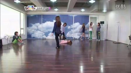 「麻辣音乐君」少女时代 - 重逢的世界 - SBS Idol Big Show练习室影像 现场版