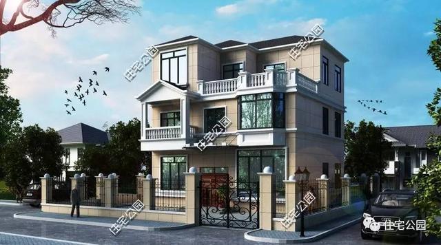 10x10农村建房设计图