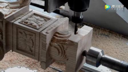 木材4轴数控路由器加速机全运动