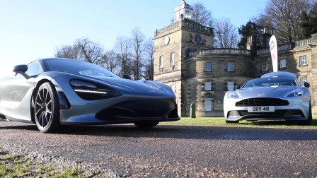 100 Supercars in freezing conditions!North New Year Meet