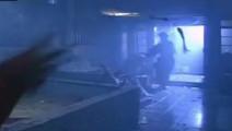 林正英受重伤,血流钟馗画像,引出钟馗下凡对付僵尸王!