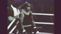 泰森第一次上擂台,7秒KO对手,全场看蒙犹如天神下凡!