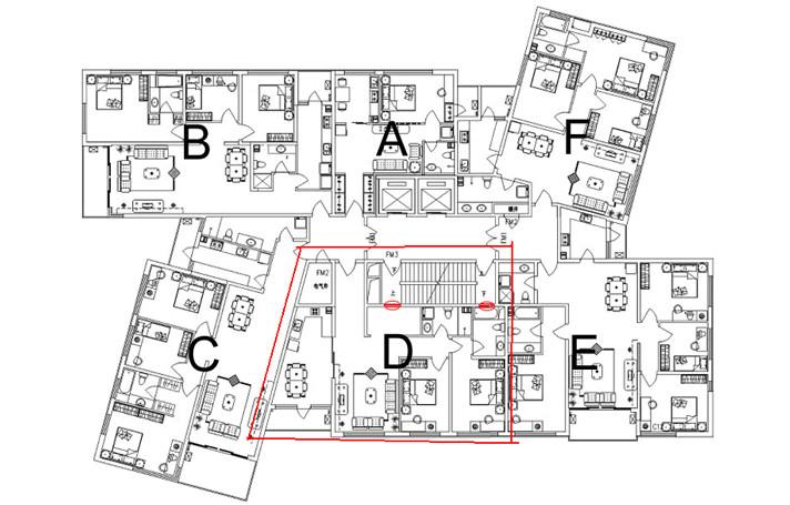 四、塔楼劣势是什么? (1)居住密度高 塔楼每层的住户多为6户以上,有的甚至高达12户,数百户人家挤在一栋大塔楼里,居住环境当然不如板楼优越。而且,塔楼每层都有部分住户的采光、通风、景观等条件比较落后,且不可改变。