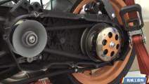 摩托车上的CVT变速器,如何实现变速的