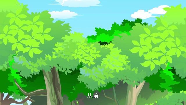 儿童手绘绿色龟壳